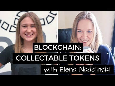 Blockchain: Collectable Tokens or ERC-721 with Ethmoji | #BlockchainMarch