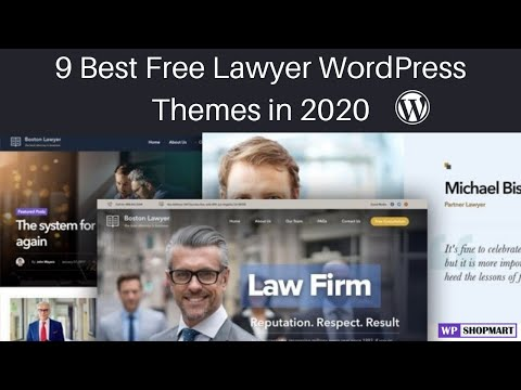 9 Best Free Lawyer WordPress Themes | Free Lawyer & Attorney Wordpress Themes for Law Website