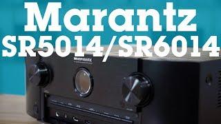 Marantz SR5014 & SR6014 home theater receivers | Crutchfield