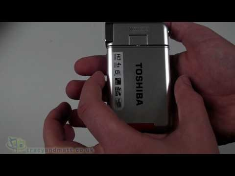 Toshiba Camileo S20 unboxing video