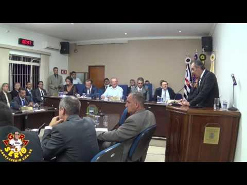 Sessão Solene dia 27 de Março de 2017 Juquitiba 52 anos - Dr Walter Godinho
