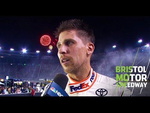 Hamlin praises DiBenedetto after Bristol win