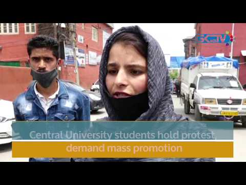 Central University students hold protest, demand mass promotion