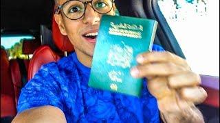 VLOG 11 -I GOT MY VISA IN 2 HOURS - خديت الفيزا فسعتين