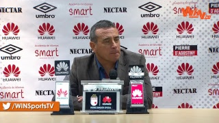 Habla Guillermo Sanguinetti tras la derrota de Santa Fe con Equidad