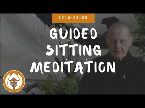 Guided Sitting Meditation - Sister Annabel Laity | 2016.06.03