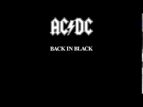 AC/DC - Back in Black (Full Album)