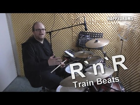 Schlagzeug lernen: Rock `n` Roll Train Beats – Snare Drum Grooves