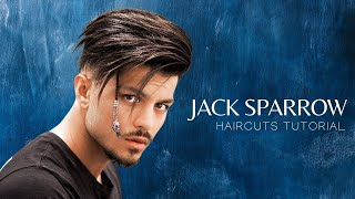 Jack Sparrow Inspired Hairstyle & Haircuts Tutorials | Mens Hairstyles #NEW 2017