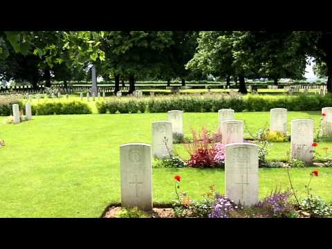 Le Cateau Military Cemetery, France