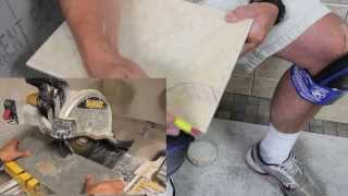 How To Cut Tile With a Wet Saw - Ceramic, Porcelain, Stone, Glass & More