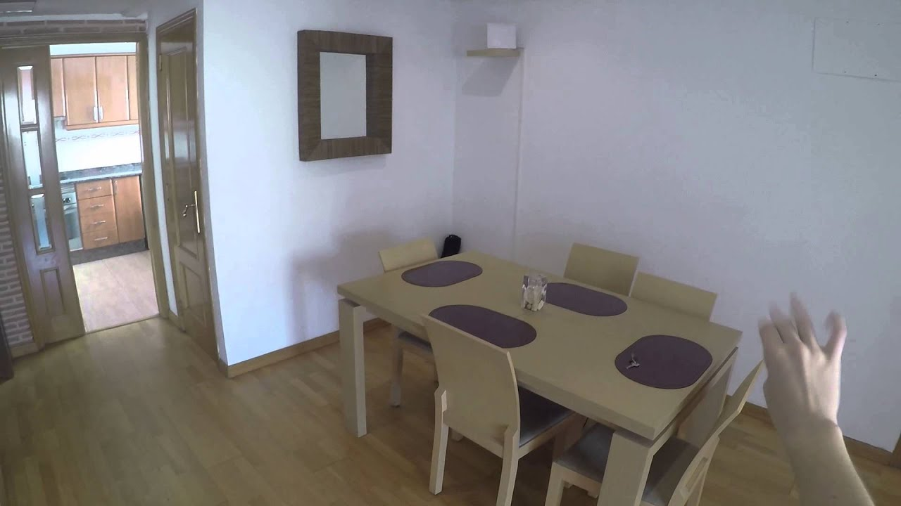 One sunny bedroom for rent in a 3 bedroom apartment with two terraces, pets allowed