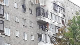 Пожар в Екатеринбурге 2017
