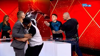 Gamrot and Parke almost got into a fight at a TV programme