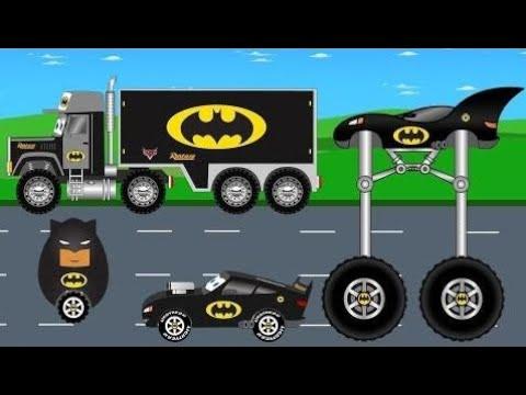Batman-Fahrzeuge - Transportwagen Auto Und Überraschung Ei - Kinder-Video  # 51