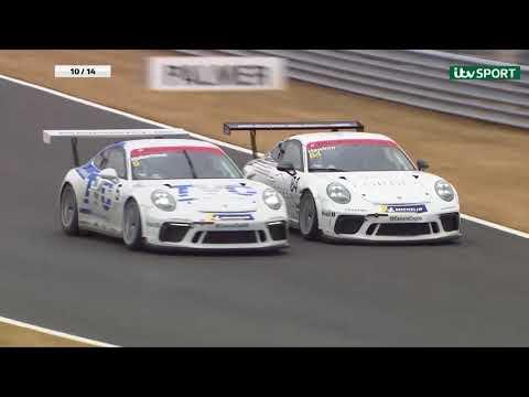 Porsche Carrera Cup GB 2018: Snetterton Rounds 9 and 10 Highlights