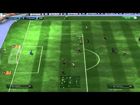 Hướng dẫn kỹ thuật ngoặt bóng 90 độ qua người - Fifa online 3 (Fan FF3 đâu bơi cả vào đây)
