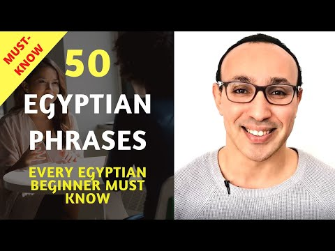 Learn Egyptian Arabic: 50 Important Words and Phrases Every Egyptian Beginner Should Know