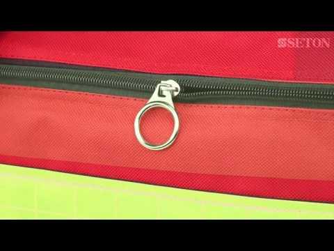 Empty Red Kit Bag | Seton UK