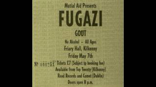 Fugazi - Live in the Friary Hall, Kilkenny.