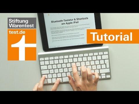 Tutorial: iPad mit Bluetooth-Tastatur nutzen & Shortcuts verwenden Anleitung