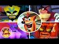 All Boss Fights Crash Bandicoot Wrath Of Cortex no Dama