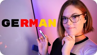 ASMR Teaching You GERMAN! 🇩🇪 Relaxing Ear to Ear Words for Sleep and Study