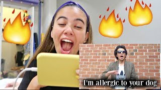 I FINALLY REACT TO MY BROTHER'S DISS TRACK ON ME... Might ruin my career