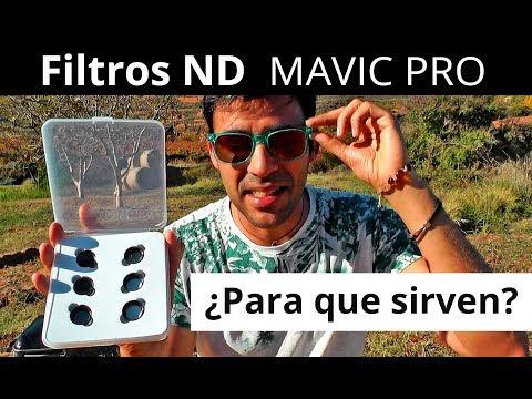 Filtros ND para el drone Mavic Pro. ¿Que son y como se usan?