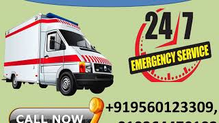 Hire High-Class Road Ambulance Service in Katihar and Bhagalpur