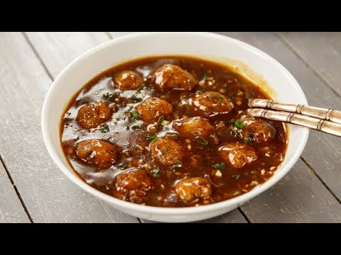 Veg Manchurian Gravy Restaurant Style Vegetable Wet Recipe – CookingShooking