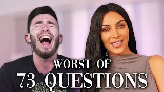 Idiots React To CRINGIEST 73 Questions | Vogue