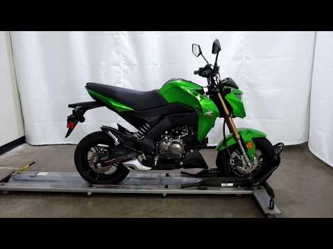 2017 Kawasaki Z125 Pro in Eden Prairie, Minnesota - Video 1