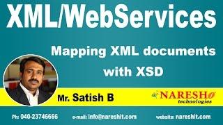 Mapping XML documents with XSD | XML Tutorial | Mr. Satish B