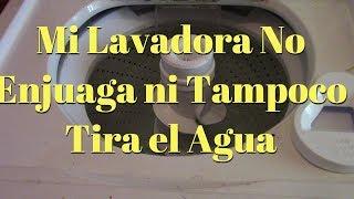 Lavadora Kenmore No Tira El Agua Ni Tampoco Exprime | Calcetin Atorado en la bomba de agua