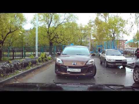 Омский водитель поразил своим мастерством вождения