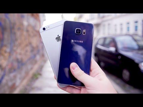iPhone 6S Plus vs. Galaxy S6 edge Plus: Der Kampf der Giganten! - felixba