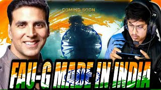 FAU-G NEW GAME MORTAL REACTION || AKSHAY KUMAR LAUNCHING NEW FPS GAME NAMED FAUG.