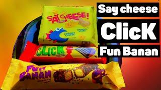 У Макса 1,44 тыс. подписчиков Интересные ништяки в шоколаде и не только -  Say cheese ClicK Fun  Banan Не проюовал такие вкусности, попробуем вместе. сегодня на фуд  обзоре. Что вообще такрое Say cheese и ClicK Fun Banan?  Say