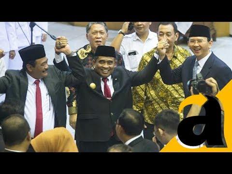 Sertijab Plt Gubernur Jakarta kepada Basuki Tjahaja Purnama