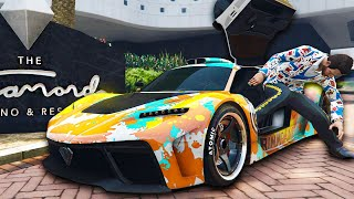 I Drove The Most Expensive Car To The Casino - GTA Online Casino DLC