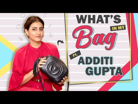 What's In My Bag With Additi Gupta Chopra | Bag Secrets Revealed