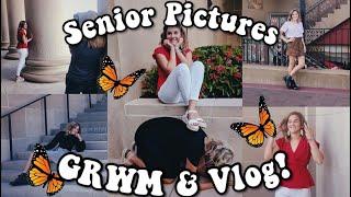 SENIOR PICS GRWM/VLOG (+outfit Ideas :))