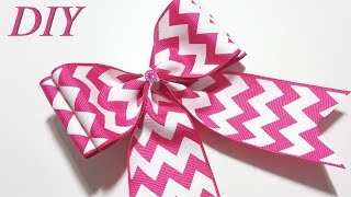 How To Make Hair Bows 🎀 DIY #229 Cheer Hair Bow Tutorial
