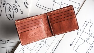 How To Design A Leather Wallet (NARRATED!)