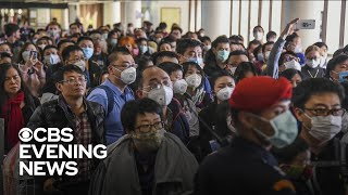 """""""The U.S. embassy in China is evacuating American citizens from Wuhan, the city at the center of the Coronavirus outbreak. More than 1,300 cases have been reported in the country and at least 41 people have died. In the U.S., 63 patients have been tested in 22 states. Ramy Inocencio reports.  Subscribe to the """"CBS Evening News"""" Channel HERE: http://bit.ly/1S7Dhik Watch Full Episodes of the """"CBS Evening News"""" HERE: http://cbsn.ws/23XekKA Watch the latest installment of """"On the Road,"""" only on the """"CBS Evening News,"""" HERE: http://cbsn.ws/23XwqMH Follow """"CBS Evening News"""" on Instagram: http://bit.ly/1T8icTO Like """"CBS Evening News"""" on Facebook HERE: http://on.fb.me/1KxYobb Follow the """"CBS Evening News"""" on Twitter HERE: http://bit.ly/1O3dTTe Follow the """"CBS Evening News"""" on Google+ HERE: http://bit.ly/1Qs0aam  Get your news on the go! Download CBS News mobile apps HERE: http://cbsn.ws/1Xb1WC8  Get new episodes of shows you love across devices the next day, stream local news live, and watch full seasons of CBS fan favorites anytime, anywhere with CBS All Access. Try it free! http://bit.ly/1OQA29B  --- The """"CBS Evening News"""" premiered as a half-hour broadcast on Sept. 2, 1963. Check local listings for CBS Evening News broadcast times."""