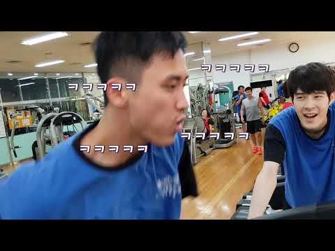 [영훈TV] 런닝머신 누가더 오래뛰나 feat. 점심내기!! (세기의대결 4탄)