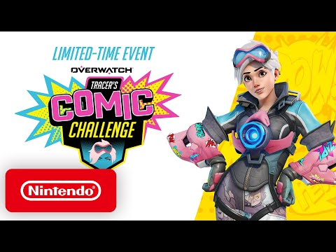 Overwatch – Tracer's Comic Challenge – Nintendo Switch