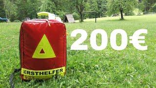 Notfallrucksack für 200€ zusammenstellen?!