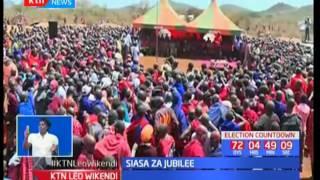 Naibu wa rais William Ruto aeneza kampeni za Jubilee maeneo wa Loitoktok